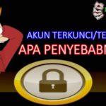 Penyebab Akun Judi Online Terkunci/Terblokir
